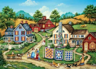 Kittens' Escape - 500pc Jigsaw Puzzle by Masterpieces