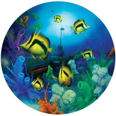 Up Periscope - 500pc Round Jigsaw Puzzle by Masterpieces