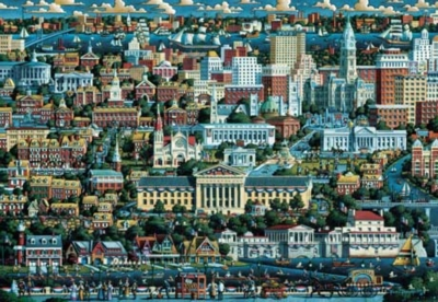 Philadephia - 500pc Jigsaw Puzzle by Masterpieces
