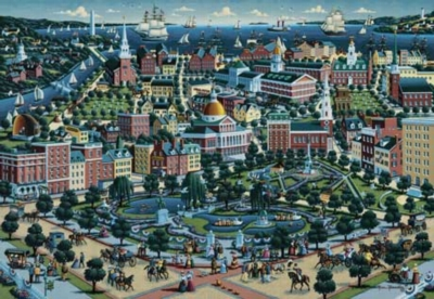 Boston - 500pc Jigsaw Puzzle by Masterpieces