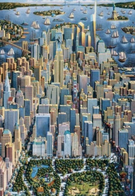 New York City - 500pc Jigsaw Puzzle by Masterpieces