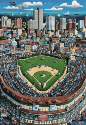 Chicago - 500pc Jigsaw Puzzle by Masterpieces
