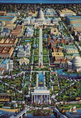 Washington DC - 500pc Jigsaw Puzzle by Masterpieces