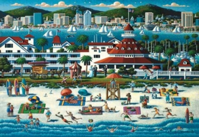 San Diego - 500pc Jigsaw Puzzle by Masterpieces