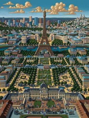 Paris - 500pc Jigsaw Puzzle by Masterpieces