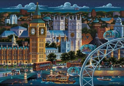 London - 500pc Jigsaw Puzzle by Masterpieces
