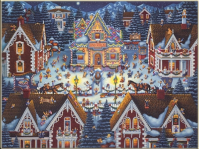 Gingerbread House - 1000pc Storybook Jigsaw Puzzle by Masterpieces