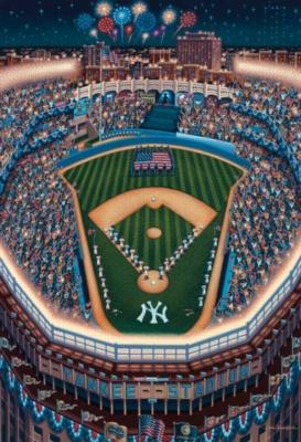 Yankee Stadium, NY - 1000pc Suitcase Jigsaw Puzzle by Masterpieces