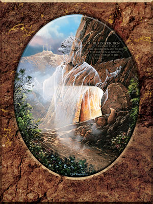 I am the Resurrection and the Life - 750pc Jigsaw Puzzle by Masterpieces