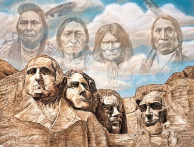 Founding Fathers - 550pc Jigsaw Puzzle by Masterpieces