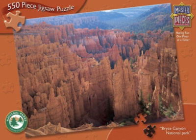 Bryce Canyon - 550pc Jigsaw Puzzle by Masterpieces