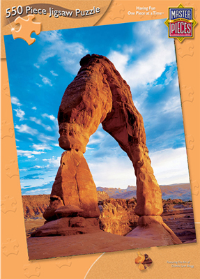 Delicate Arch - 550pc Jigsaw Puzzle by Masterpieces