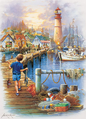 The Big Catch - 1000pc Jigsaw Puzzle by Masterpieces