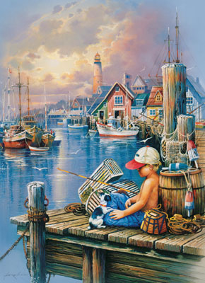 First Catch - 1000pc Jigsaw Puzzle by Masterpieces