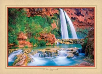 Havasu Falls - 1000pc Jigsaw Puzzle by Masterpieces