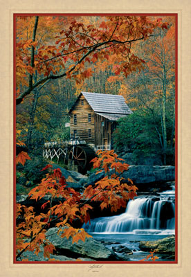 Glade Creek - 1000pc Large Format Jigsaw Puzzle by Masterpieces
