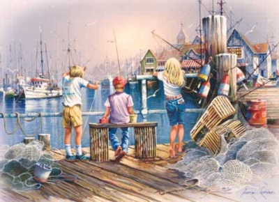 Summer Daze - 1000pc Jigsaw Puzzle by Masterpieces