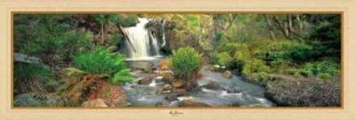 Broken Falls - 1000pc Panoramic Jigsaw Puzzle by Masterpieces