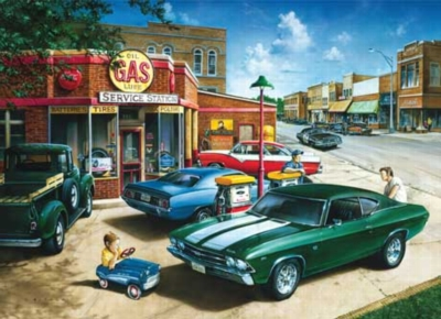 Muscle Car Dreams - 1000pc Jigsaw Puzzle by Masterpieces