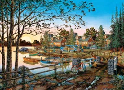 Away From It All - 1000pc Jigsaw Puzzle by Masterpieces