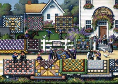 Quilting Country - 1000pc Jigsaw Puzzle by Masterpieces