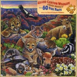 Jigsaw Puzzles - Grand Canyon Animals