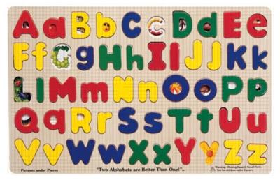 Children's Puzzles - Upper & Lower Case Alphabet