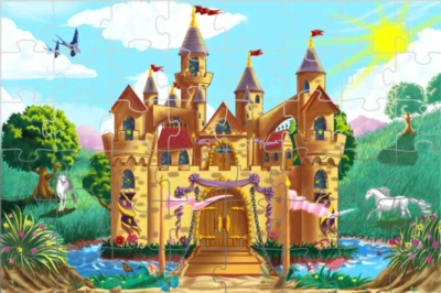 Fairy Tale Castle - 48pc Floor Puzzle By Melissa & Doug