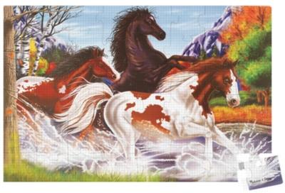 Horses - 48pc Floor Puzzle By Melissa & Doug