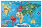 World Map - 33pc Floor Puzzle By Melissa & Doug