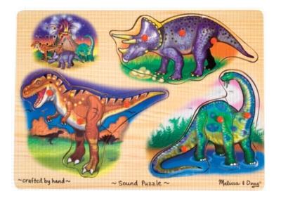 Dinosaurs Sound Puzzle - Melissa & Doug