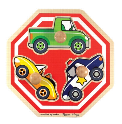 Wood Puzzles - Stop Sign Vehicles