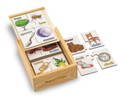 Rhymes - 20pc Puzzle Cards By Melissa and Doug