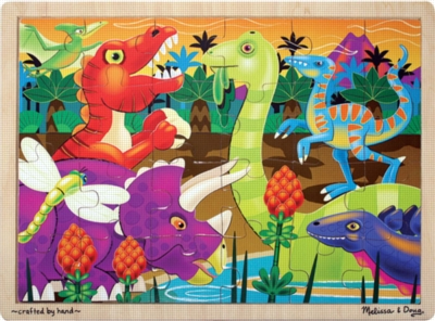 Melissa and Doug Jigsaw Puzzles for Kids - Prehistoric Sunset