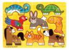 Pets Mix 'n Match - 8pc Wooden Peg Puzzle By Melissa & Doug