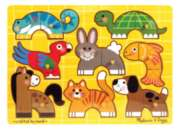Wood Puzzles - Pets Mix 'n Match