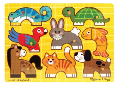 Wood Puzzles - Pets Mix 'n Match