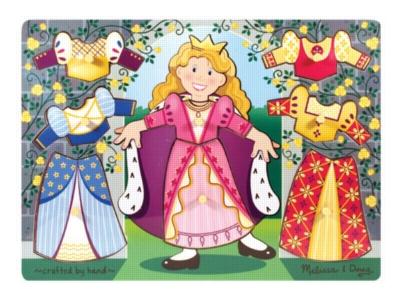 Children's Puzzles - Princess Dress