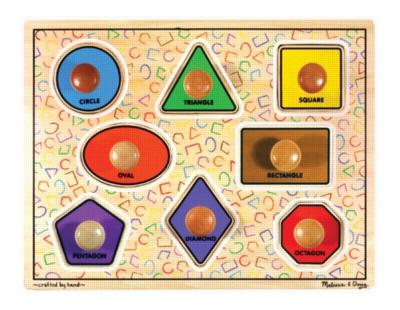 Children's Puzzles - Large Shapes