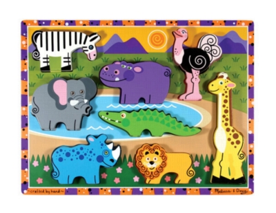 Children's Puzzles - Safari