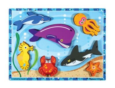 Children's Puzzles - Sea Creatures