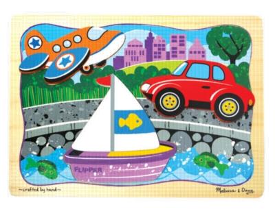Children's Puzzles - Transport Trio
