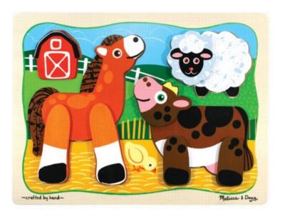 Children's Puzzles - Barn Buddies