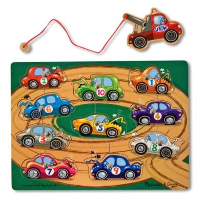 Children's Puzzles - Towing