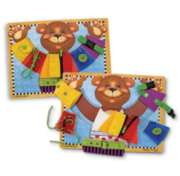 Melissa and Doug Jigsaw Puzzles for Kids - Basic Skills Board