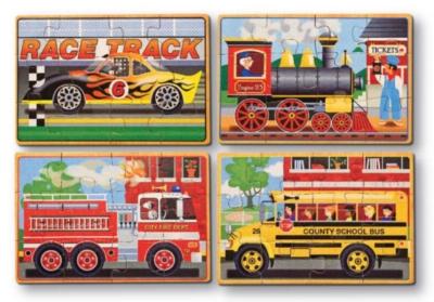 Children's Puzzles - Vehicle