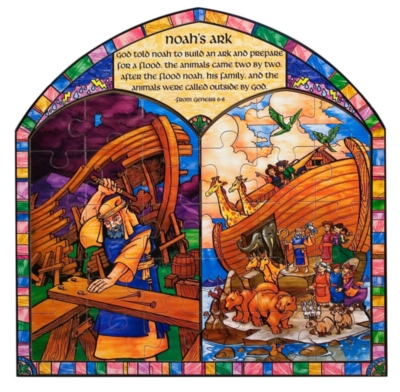 Noah's Ark - 30pc Wooden Jigsaw Puzzle By Melissa and Doug