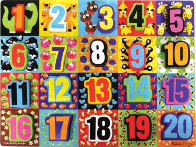 Children's Puzzles - Jumbo Numbers