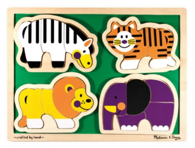 Children's Puzzles - Zoo Animals