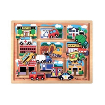 Children's Puzzles - Vehicles